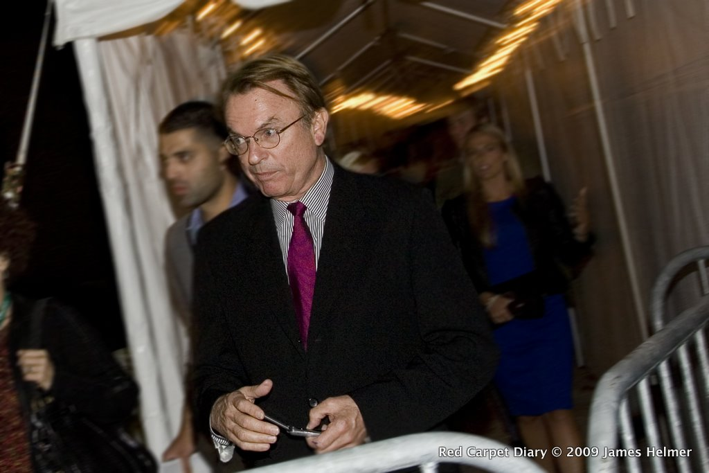 Sam Neill enters the Ryerson Theatre on Sept 12, 2009 for the screening of Daybreakers during the Toronto International Film Festival.